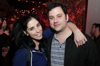 Sarah Silverman e Jimmy Kimmel