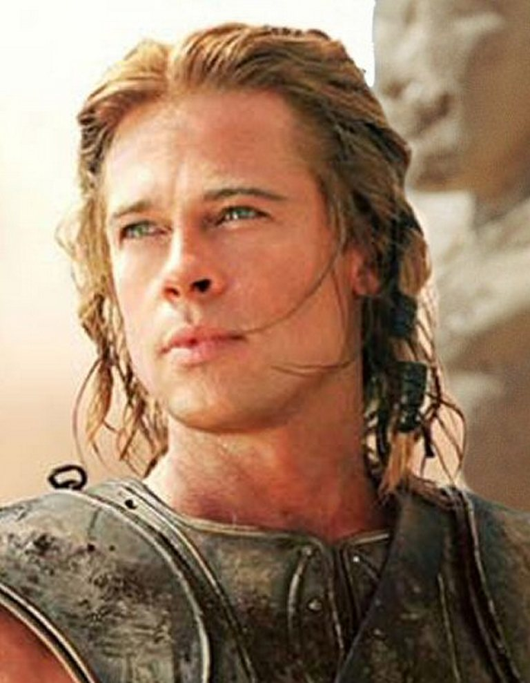 Brad Pitt em tróia