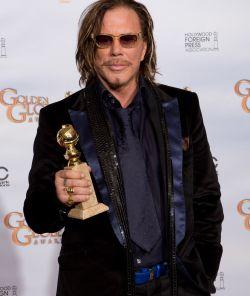 """Ewald, sabe onde vou enfiar isto?"" © HFPA, 66th Golden Globe® Awards"